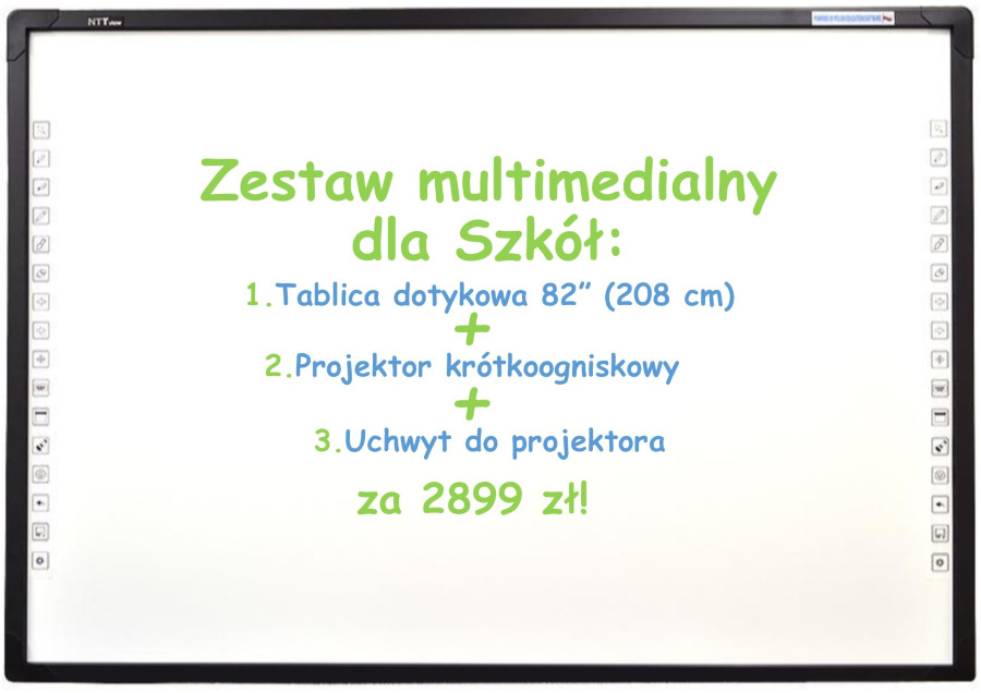 zestaw multimedialny tablica dotykowa  laptopy Linkart Sklep komputerowy serwis komputerowy oprogramowanie serwis RTV telewizory ksero klaj bochnia niepolomice tarnow krakow brzesko malopolska